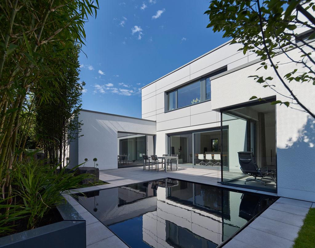 Wohnhaus s fachwerk4 architekten bda for Moderne architektur wohnhaus