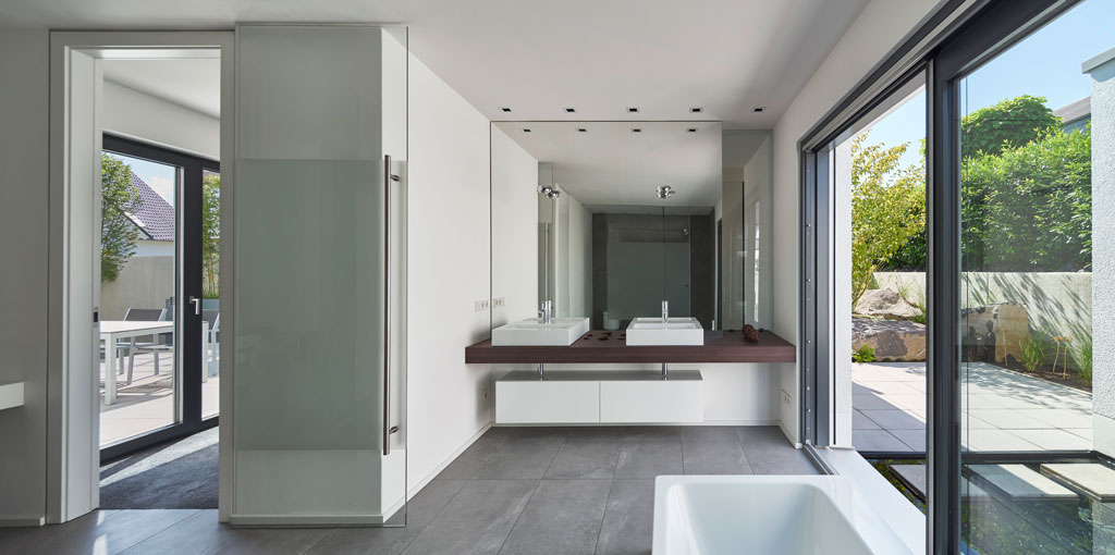 Modernes badezimmer architektur ~ Moderne Architektur – O förmiges ...