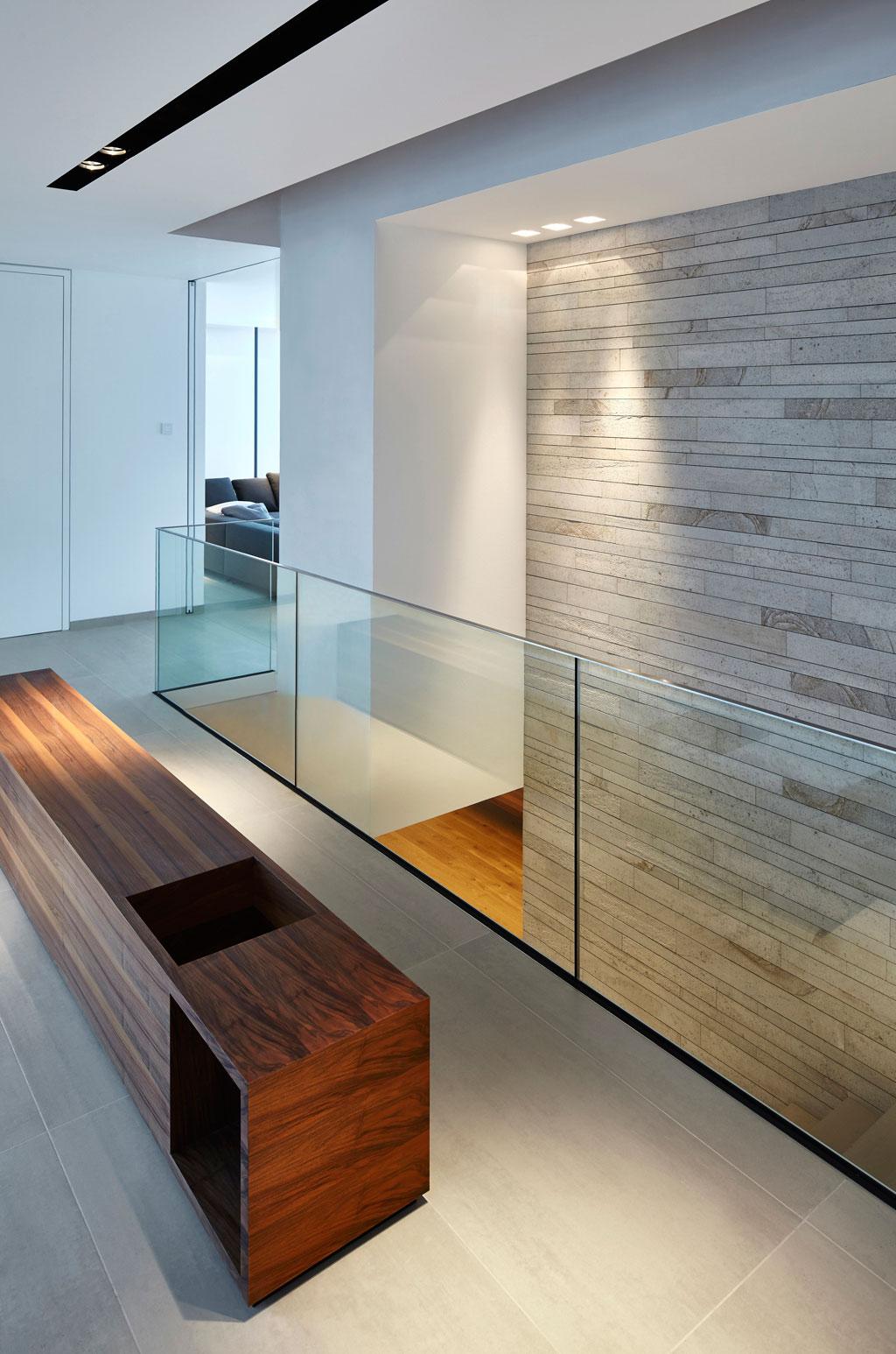 Modernes treppenhaus einfamilienhaus  Haus Eifel | Fachwerk4 | Architekten BDA