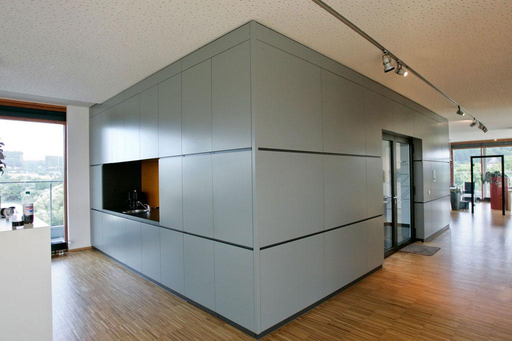 B roetage emc fachwerk4 architekten bda for Schrankwand 4 meter