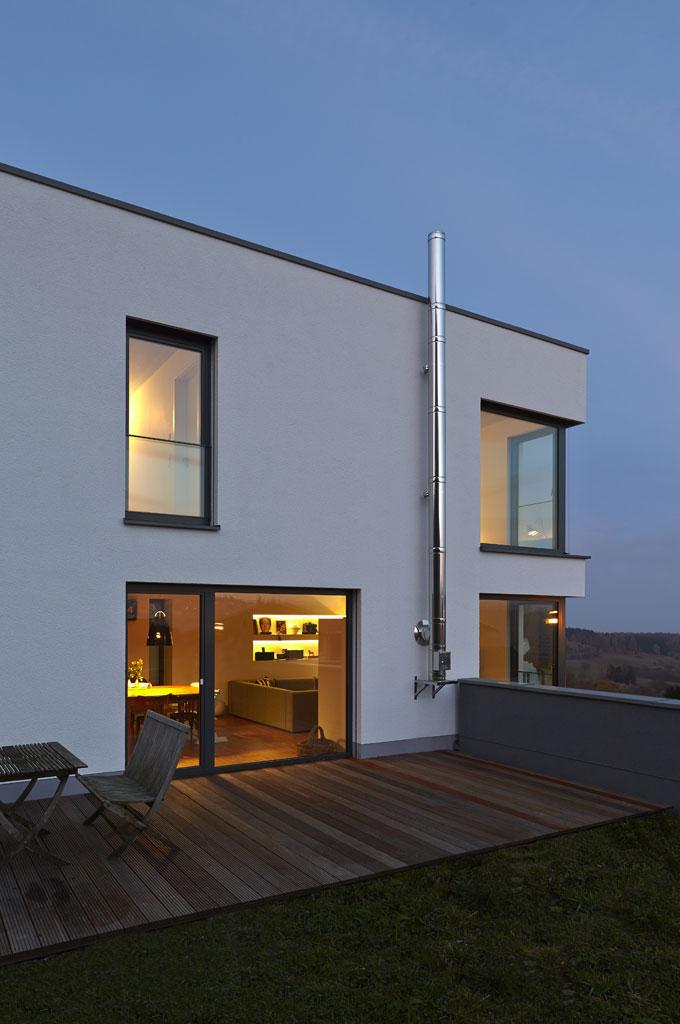 Haus Beleuchten haus k fachwerk4 architekten bda