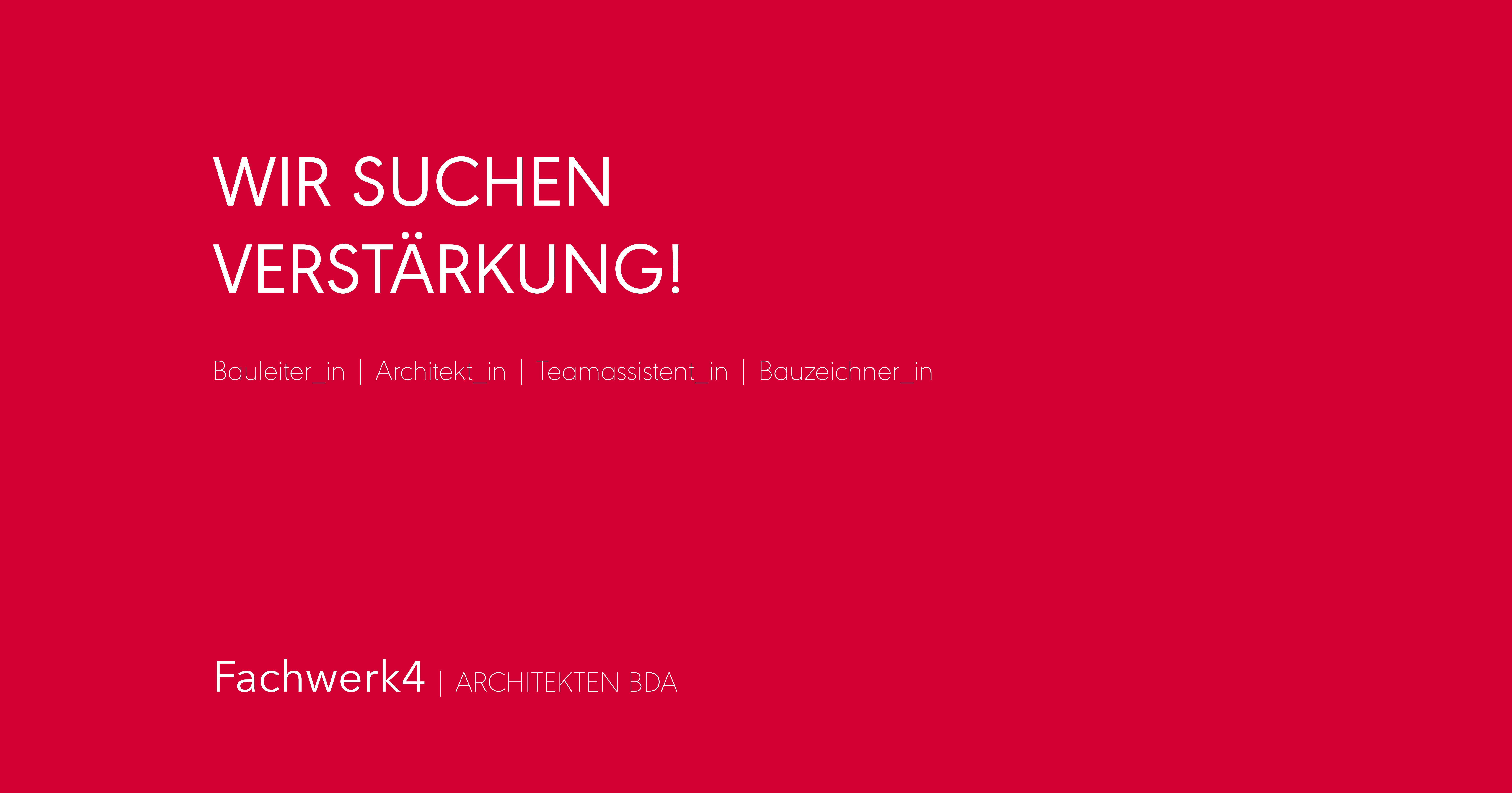 Wunderbar Architekt Suchen Ideen Von Stellenangebot: Bauleiter_in (anstellung In Vollzeit Oder In