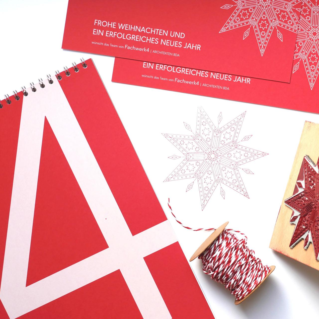 Frohe Weihnachten wünschen Fachwerk4 | Architekten BDA in Wirges bei Montabaur (Rheinland Pfalz), Elegante und moderne Architektur; Foto: © Merja Eckinger, Fachwerk4 | Architekten BDA